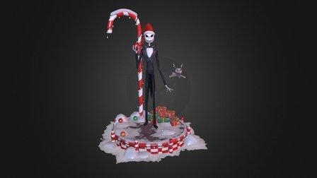 Mister Jack Skellington & Zero 3D Model