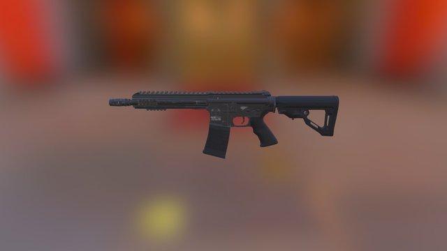 Airsoft Gun ICS-260 3D Model
