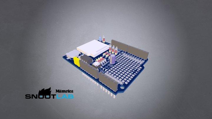 Shield Mémoire (v2.0) 3D Model