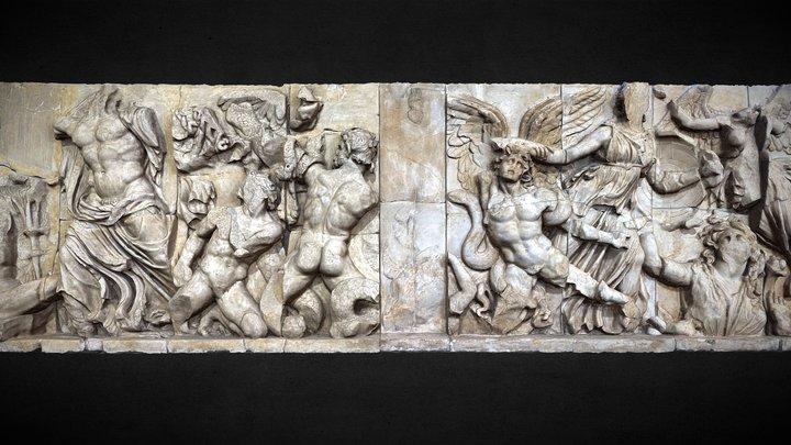 Large mythological fresco - France 3D Model