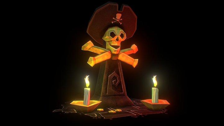 Pirate Altar 3D Model