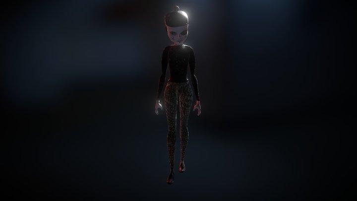 Jester Character 3D Model