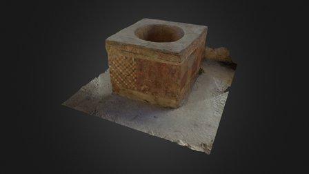 Fonte Battesimale Sant Angelo dei Lombardi 3D Model