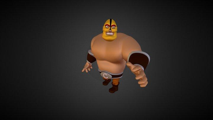 Luke el luchador 3D Model