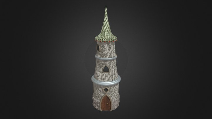 Wizard's Tower 3D Model