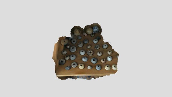 spinsteentjes 3D Model