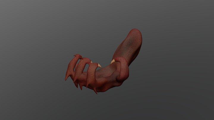 Monster Hand 3D Model