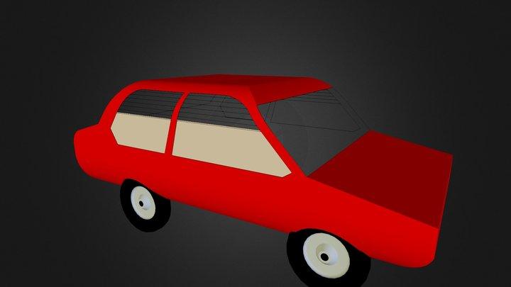 Coche Sara 3D Model