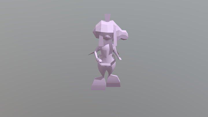 Oldmermaid 3D Model