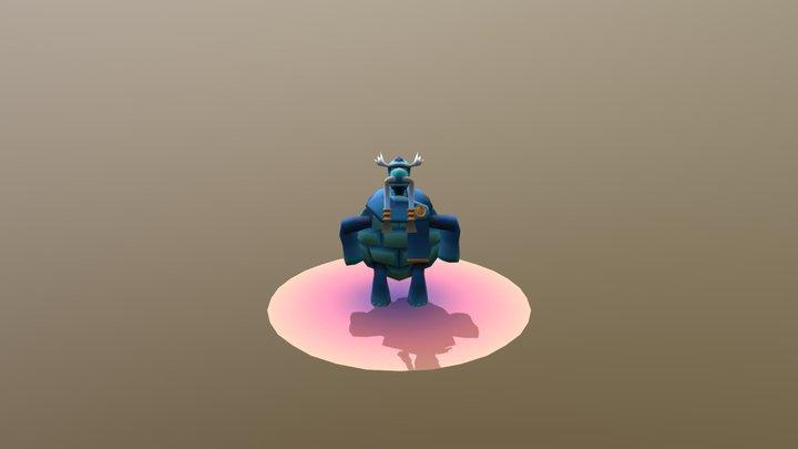 Minions Turtle Ver 1.1 3D Model