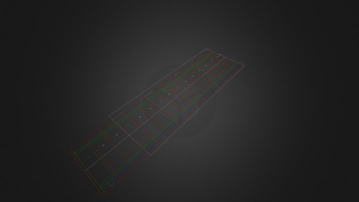 Zarys Poziomy Ewa Fr 3D Model