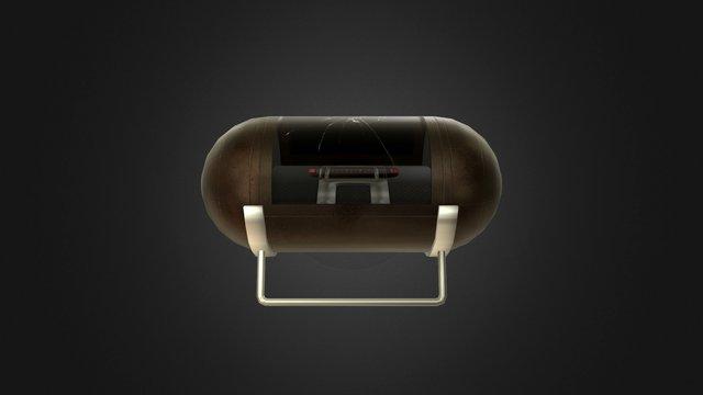 Lab Capsule 3D Model