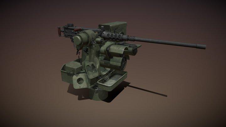 RWS Kongsberg M151 Protector with M2 3D Model