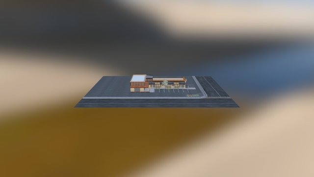 Old Town Office 3D Model