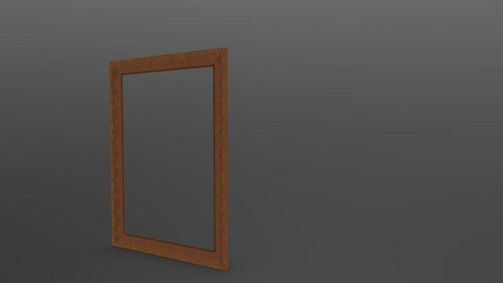Historic Portrait 3D Model