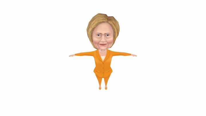 Hilary Full Body Final 3D Model