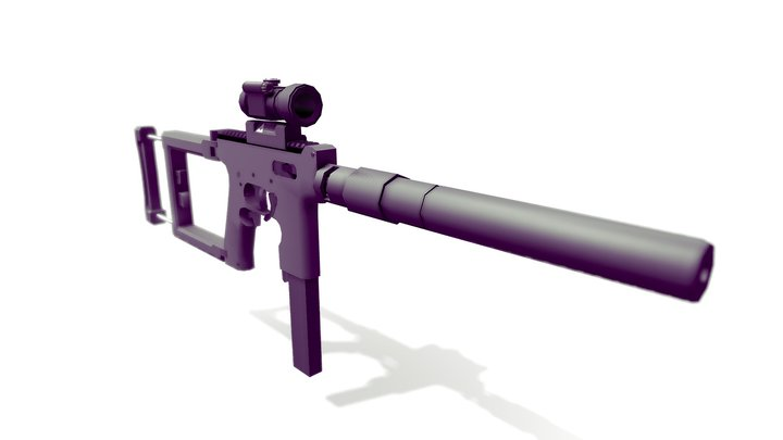 IDW Individual Defense Weapon 3D Model