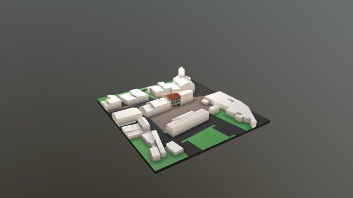 coeur de village light 3D Model
