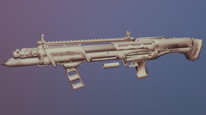 DP-12 3D Model