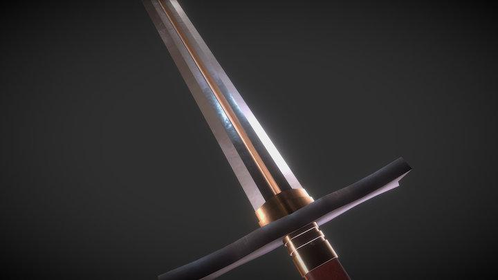 Royale Sword 3D Model