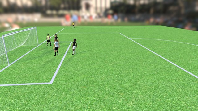NFHS - Soccer Play 2 3D Model