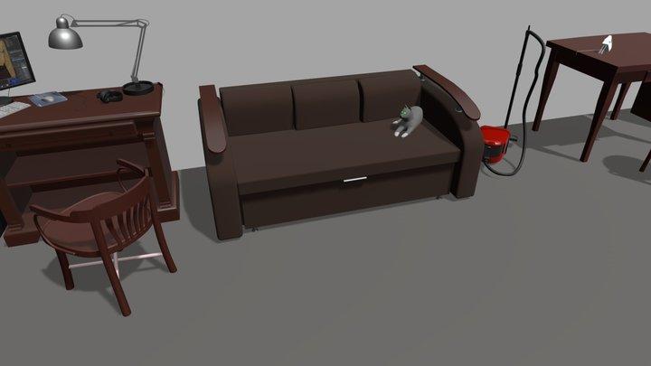 Homework week-01 3D Model