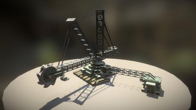 Kohlebagger 3D Model