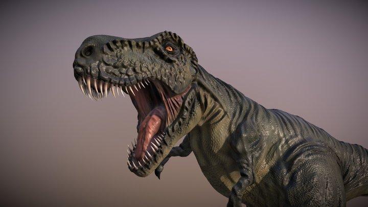 Tiranosaurio rex 3D Model