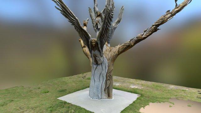 Angel Tree - Work in progress step 2 3D Model