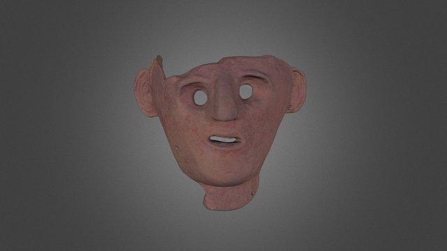Punik mask (Italy) 3D Model