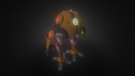 D-Bot 3D Model