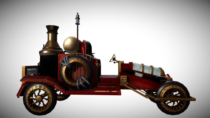 Firefighter 1930 ~ 3D Model