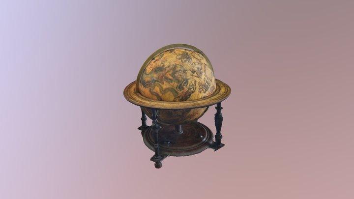 Blaeu Globe - initial conservation survey model 3D Model