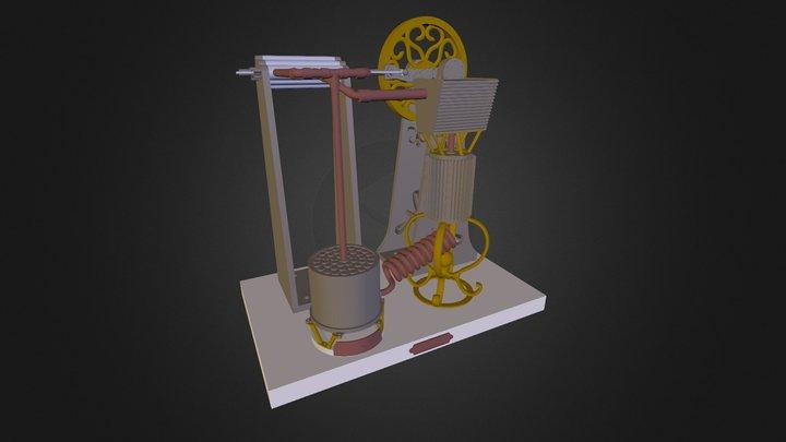 Steamini 3D Model
