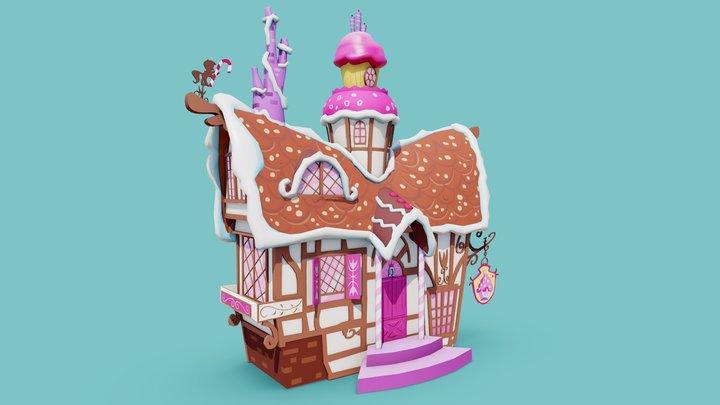 Sugarcube Corner 3D Model
