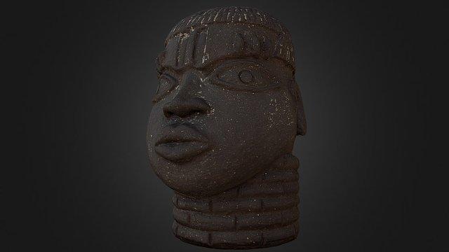 Cabeza de personaje 3D Model