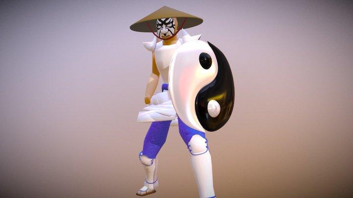 Captain Yin-Yang 3D Model