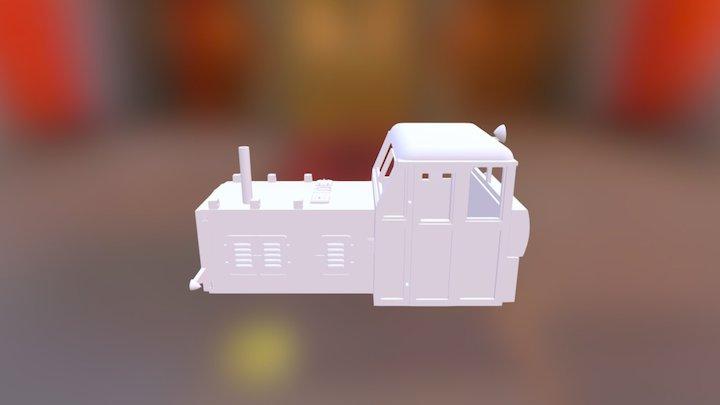 Tosa (Nomura) Works Diesel HOn30 engine 3D Model