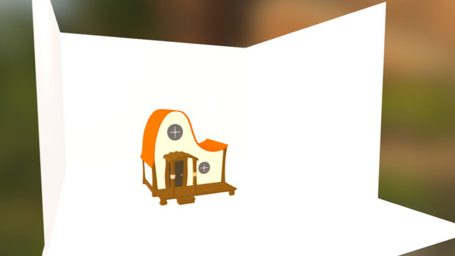 House Traditional 3D Model
