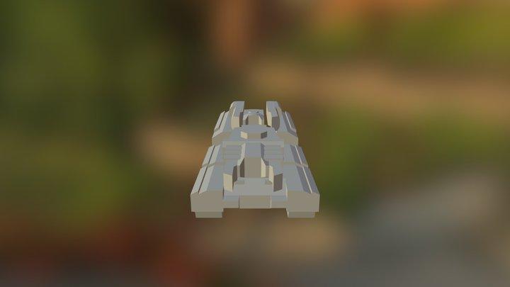 Mainline Tank WIP V1 3D Model