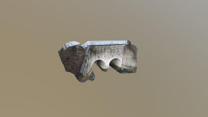 Pont aqueduc 3D Model