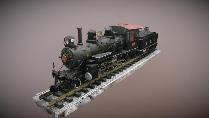 Bachmann 10 Wheeler 3D Model