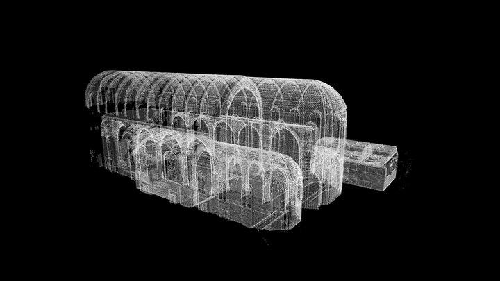 St Barnabas Church - 3D Point Cloud (I,B) 3D Model