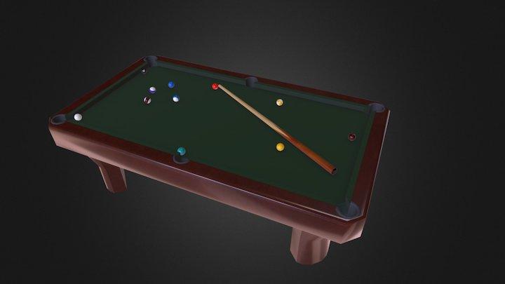 Billard table 3D Model