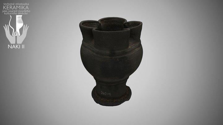 Pohár / Beaker 3D Model