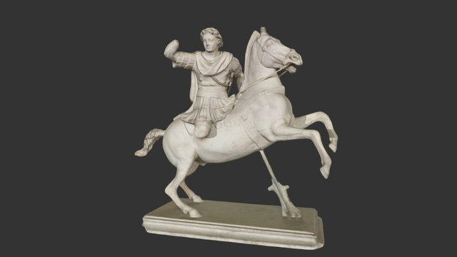 Alejandro Magno V - 255 Alexander the Great 3D Model