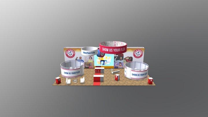 GK-5600  - Gravitee One-step Modular Island 3D Model