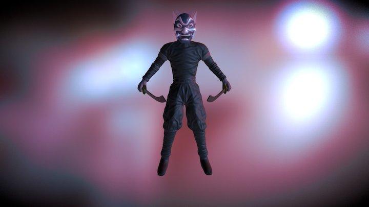 The Blue Spirit (Prince Zuko) 3D Model