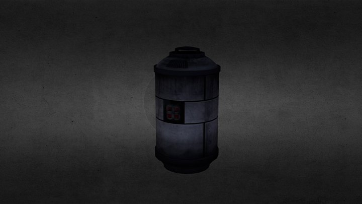 fuel_canister 3D Model
