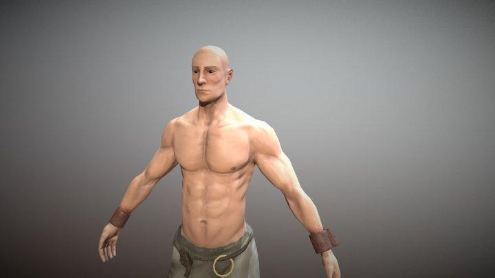 Prisoner 3D Model
